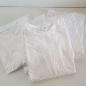 5pack classic white shirt XL